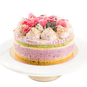 "Kohupiima-sefiiritort ""Rosè"" 1 kg"