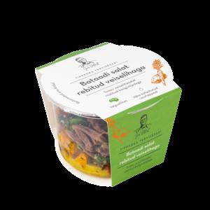 Bataadi salat rebitud veiselihaga 230 g