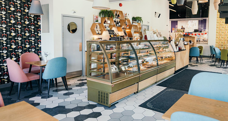 Gustav Cafe Tartu Kaubamaja